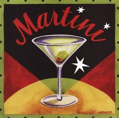 'Martini' by Jennifer Brinley