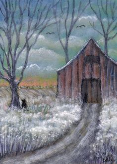 """Kathe Soave, """"First Snow"""""""