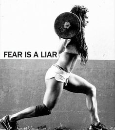 Ashley Horner   WBFF Pro & Fitness Model   Inspiration   Fear is a Liar   Motivation