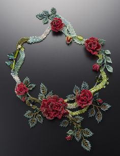 Beaded jewelry by Masako Saito