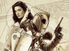 Jennifer Connely!!! Rocketeer Final Art Preview #2