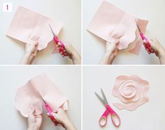 DIY Felt Flower Boutonniere
