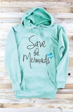 Hooded Sweatshirt - Mermaid Sweater
