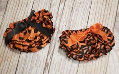 Satin Halloween Diaper Covers