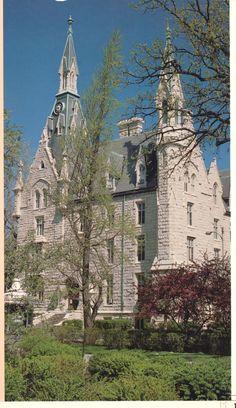 University Hall, Northwestern University...Victorian Gothic