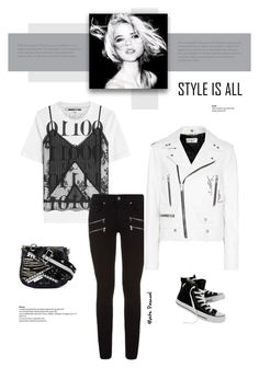 """Style Is All 08.04.17"" by maitepascual ❤ liked on Polyvore featuring McQ by Alexander McQueen, Paige Denim, Yves Saint Laurent, Converse, Marc Jacobs, AlexanderMcQueen, saintlaurent, mcq and styleisall"