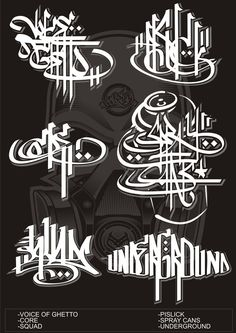Calligraphy or tagging
