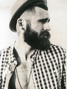 Chris Perceval dense beard
