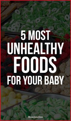 You must have received ample advice on what you must feed your baby once he is on a solid diet after his first six months.