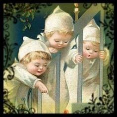 Vintage Christmas children.../