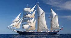 STS Leeuwin II is Western Australia's own Tall Ship, a 3-masted barquentine with over 810 square metres of sail and an overall length of 55 metres.