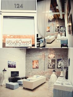 Studio Wed spaces featured by @Vanessa Worrallé Broussard - images from Project Duo Photography