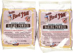 Bob's Red Mill - Baking Powder Double Aluminum Free Acting Gluten Free - 16 oz. (Pack of 2) >>> You can find out more details at the link of the image.