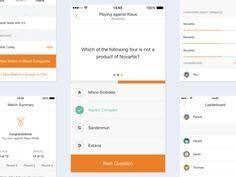 52 best quiz ui images mobile ui design interface design ui design