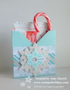 Envelope Punch Board Hot Cocoa Box | stampedwithjoy | Bloglovin'