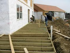 Outdoor:How To Build A Front Porch And Deck How to Build A Front Porch Beautiful Design