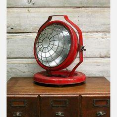 Deitz Industrial Flood Lamp, $270, now featured on Fab.