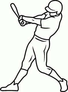 free-baseball-coloring-page-to-download | Organize your home ...