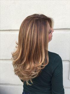Nothing like Degradé Joelle ! #longhair #fashion #style #degradejoelle #hairstylist #haircolor #castiglionfiorentino