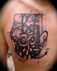 Very interesting.. Xoil needle sides tattoo...