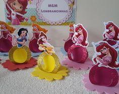 porta bombons Princesa