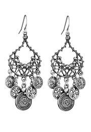 silver moroccan style w/coins earrings - maurices.com $10