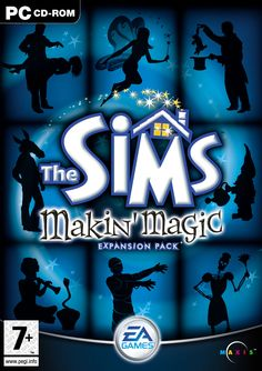 The Sims Makin' Magic Expansion Pack. I actually got to pitch a lot of ideas for this pack and move into production  design.