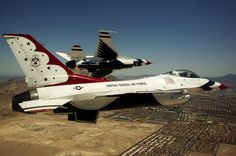 Thunderbirds pitch | Flickr - Photo Sharing! The Thunderbirds, flying red, white and blue F-16 Fighting Falcons, are the Air Force's precision flying demonstration team.