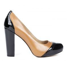 Sammy platform pump - Luggage Black