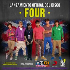 #ElDuende1D ¡Ganaste una entrada VIP al lanzamiento exclusivo de #Four de #1Direction! #Guatemala