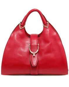 "Gucci ""Stirrup"" Leather Top Handle Bag -- I love purses!"