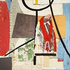 Robert Motherwell, View from a High Tower, 1944–45