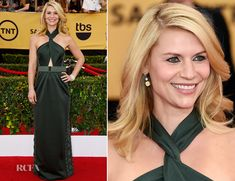 Claire Danes In Marc Jacobs – 2015 SAG Awards