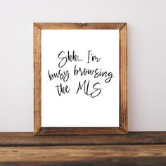 Real Estate Memes, Real Estate Signs, Real Estate Office, Realtor Gifts, Office Wall Decor, Estate Homes, Real Estate Marketing, Printable Wall Art, Digital Prints