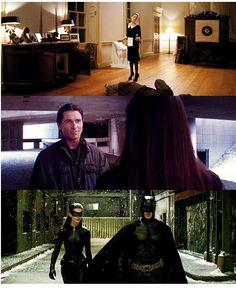 Selina Kyle and Bruce Wayne, Catwoman and Batman
