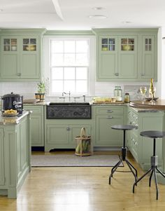 This warm, gray-green is strangely appealing.