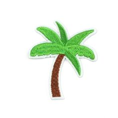 Palm Tree Patch - The Greaser and the Doll webshop