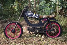 Derbi Variant Demolition by Machete Company Motorcycles, David, People, Projects, Fun, Bicycles, Pictures, Log Projects, Blue Prints
