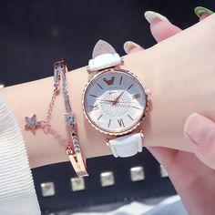 Fashion Women Watches Casual Elegent Dress Ladies Watch Creative Minimalism Dial Design Female Clock Gift Outfit Accessories From Touchy Style. Cheap Watches, Best Watches For Men, Casual Watches, Cool Watches, Gypsy Jewelry, Elegant Dresses, Fashion Watches, Michael Kors Watch, Outfit