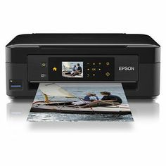 Epson Expression Home XP-412 All-In-One Printer with WiFi & USB with Touch LCD