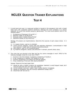 kaplan-nclex-sample-exam-6 by Think RN via Slideshare | Nclex ...