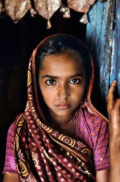 Frame 22: A Rabari girl, photographed in India, June 2010.