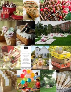 Picnic Party Inspiration: adapt for a child's birthday