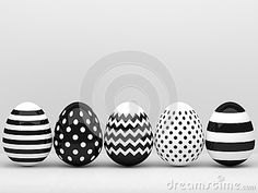 3d elegant Easter eggs  with place for text