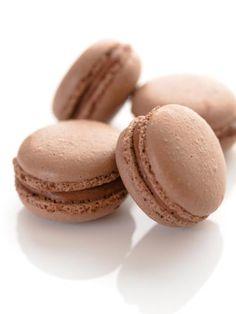 Macarons chocolat blanc – crème de marrons