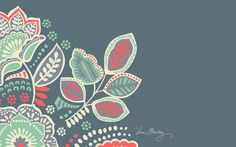 Vera Bradley Desktop Download: Nomadic Floral                                                                                                                                                                                 More