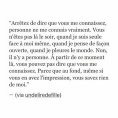 image discovered by Iris Steegen. Discover (and save!) your own images and videos on We Heart It Wisdom Quotes, True Quotes, Best Quotes, Dont Be Normal, Good Quotes For Instagram, French Quotes, French Poems, Bad Mood, Love Quotes For Him