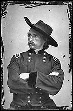 On June 25, 1876, George Armstrong Custer and the 265 men under his command lost their lives in the Battle of Little Big Horn, often referred to as Custer's Last Stand. wem