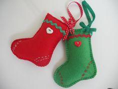 Adornos de Navidad en fieltro