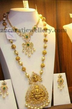 Jewellery Designs: Gold Temple Jewelry: